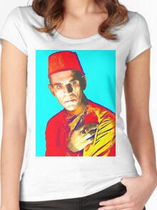 Boris Karloff in The Mummy Women's Fitted Scoop T-Shirt