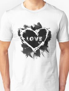 Love - Black T-Shirt