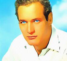 Paul Newman by Art Cinema Gallery