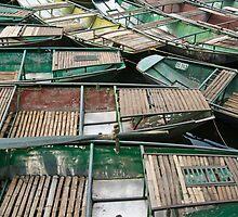 Row Boats by Werner Padarin