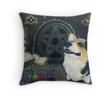 """Spellhound"" Throw Pillow"