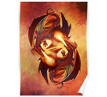Fire Dragons Poster