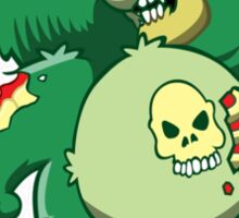 zombie Bear Sticker