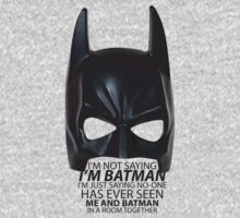I am Batman by rjzinger