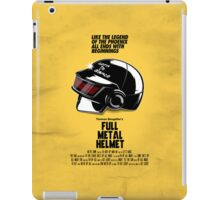 Full Metal Helmet iPad Case/Skin