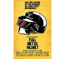 Full Metal Helmet Photographic Print