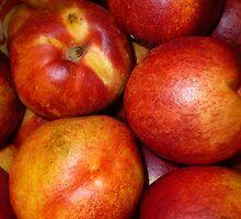 Peaches by WildestArt