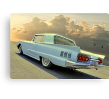 Bluebird Time Machine Canvas Print
