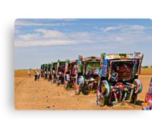 Cadillac Ranch, Amarillo, Texas Canvas Print