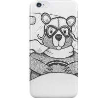 Driving Bear iPhone Case/Skin