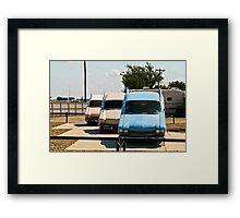 Not the Cadillac Ranch Framed Print
