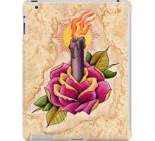 Rose Candle Tattoo iPad Case/Skin