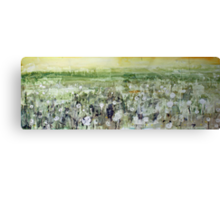 River valley meadow Canvas Print