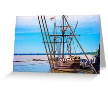 GodSpeed at Jamestown VA Greeting Card