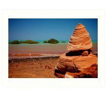 Colours of Roebuck Bay, Broome Art Print