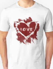 Love - Red T-Shirt