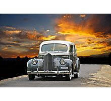 1941 Packard 120 Sedan Photographic Print