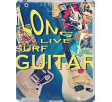 LONG LIVE SURF GUITAR iPad Case/Skin