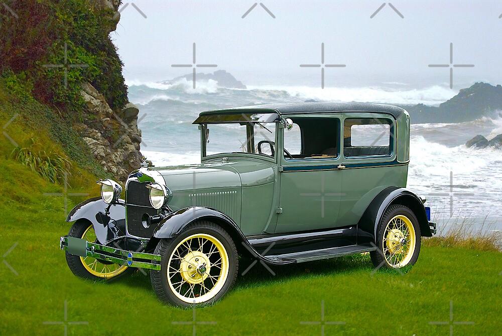1927 Ford Tudor Sedan by DaveKoontz