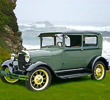 1927 Ford Tudor Sedan by DaveKoontz