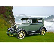 1927 Ford Tudor Sedan Photographic Print