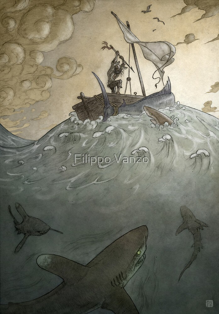 The Old Man and the Sea by Filippo Vanzo