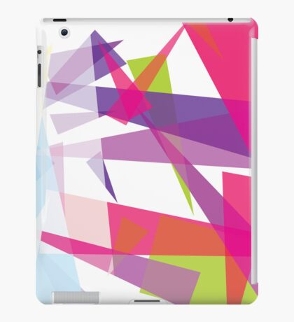 colorful case design  - abstract  iPad Case/Skin