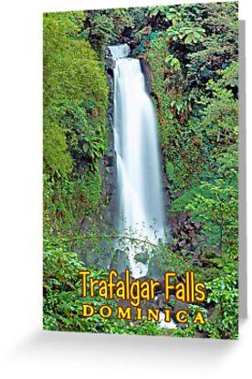 Trafalgar falls Dominica  by leksele