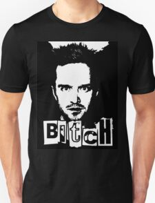 "Jesse Pinkman - Breaking Bad - ""Bitch"" tee. T-Shirt"