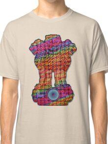 India emblem  hippie Classic T-Shirt