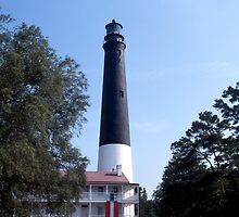 Pensacole Lighthouse by Roger Otto