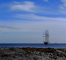 Tall Ship Bangor Bay by Wrayzo