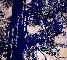 Half Moon with Haiku by nikkimj19