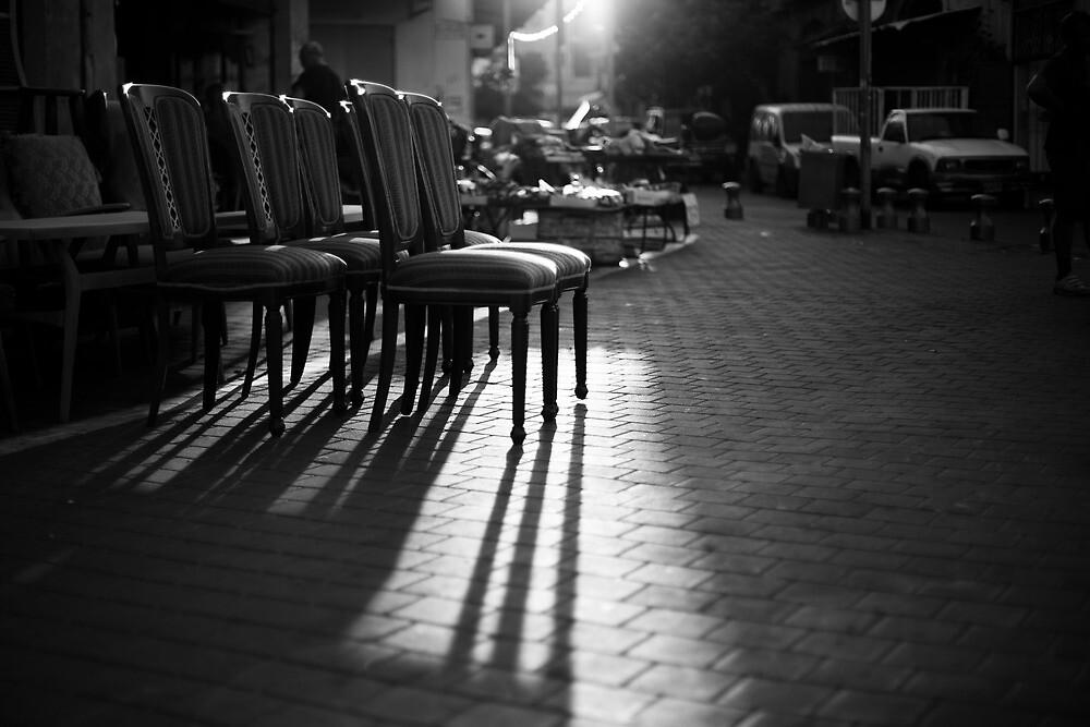 arranged shadows by Victor Bezrukov