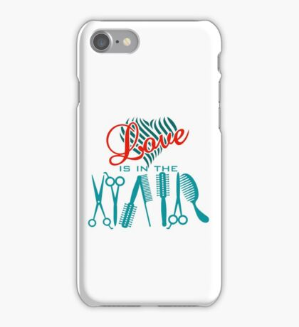 Love is in the Hair VRS2 iPhone Case/Skin