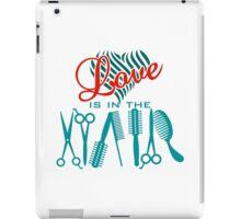Love is in the Hair VRS2 iPad Case/Skin