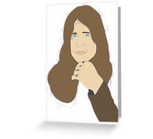 Ozzy Osbourne Black Sabbath Era Greeting Card