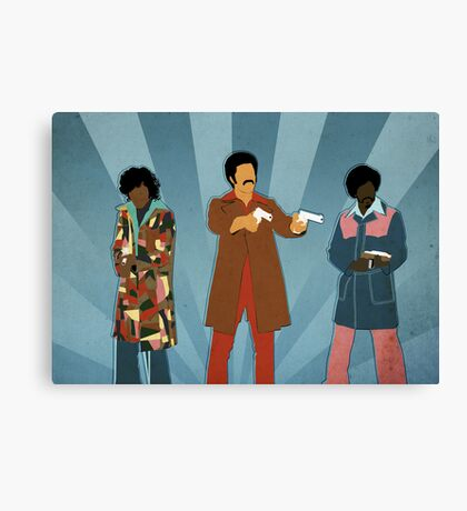 Team Dynamite Canvas Print
