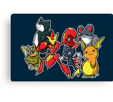 pokevengers Canvas Print