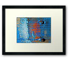 Awash with Colour Framed Print