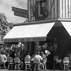 Brasserie de la Mairie by Caroline Clarkson