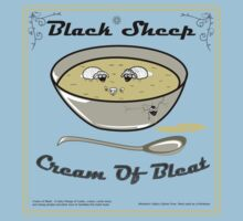 Black Sheep Cream Of Bleat Kids Clothes