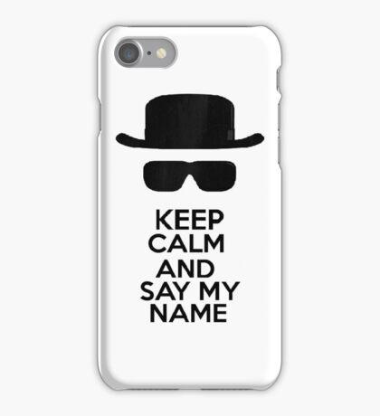 Keep Calm - Breaking Bad iPhone Case/Skin