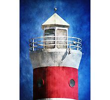 Private Lighthouse Photographic Print