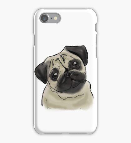 Pug Portrait iPhone Case/Skin