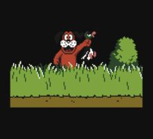 Duck Hunt Dog with Duck One Piece - Long Sleeve
