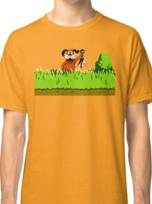 Duck Hunt Dog with Duck Classic T-Shirt