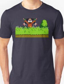 Duck Hunt Dog with 2 Ducks Unisex T-Shirt