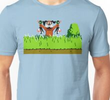 Duck Hunt Dog with 2 Ducks Unisex T-Shirt