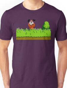 Duck Hunt Dog laughing Unisex T-Shirt